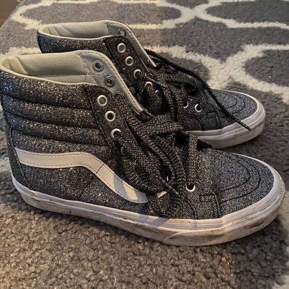 Vans Shoes | Glitter High Tops | Poshmark